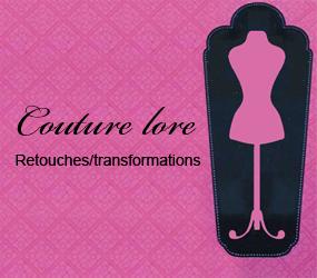 Couture Lore - Couture et retouches